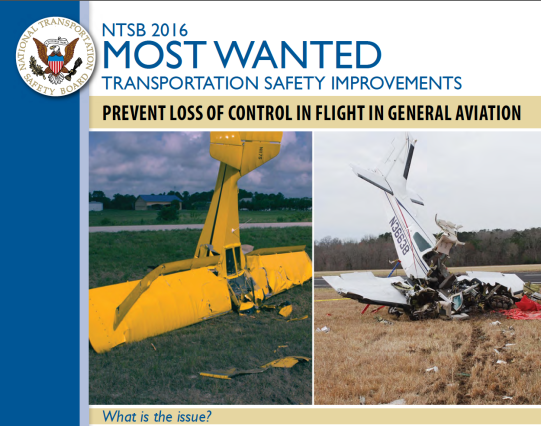 Between 2008 and 2014, about 47 percent of fatal fixed-wing GA accidents in the United States involved pilots losing control of their aircraft in flight, resulting in 1,210 fatalities.