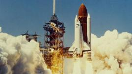 Challenger Space Shuttle Launch